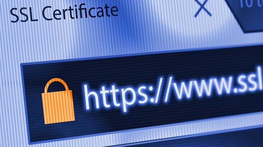 Certyfikat ssl kłódka